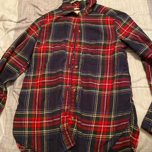 American eagle red and blue flannel